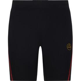 La Sportiva Triumph Tight Shorts Men black/yellow